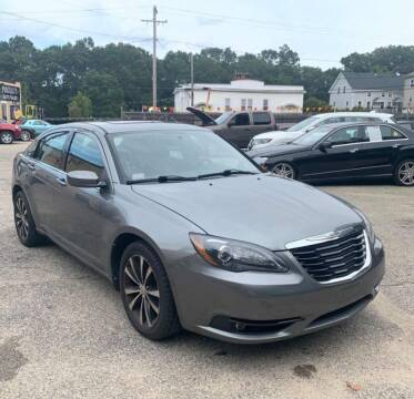 2011 Chrysler 200 for sale at I-80 Auto Sales in Hazel Crest IL