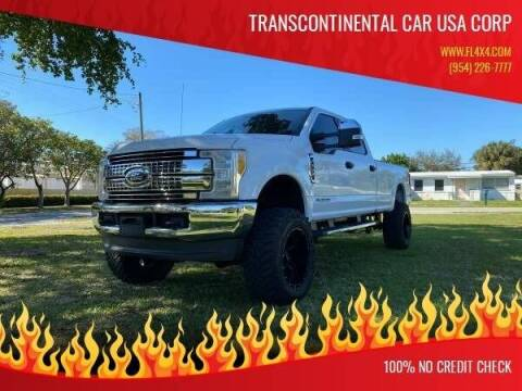 2017 Ford F-250 Super Duty for sale at Transcontinental Car USA Corp in Fort Lauderdale FL
