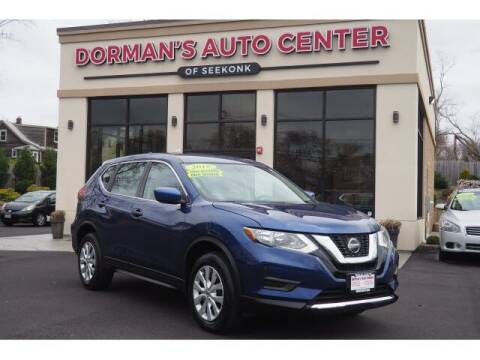 2018 Nissan Rogue for sale at DORMANS AUTO CENTER OF SEEKONK in Seekonk MA
