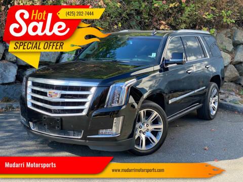 2016 Cadillac Escalade for sale at Mudarri Motorsports in Kirkland WA