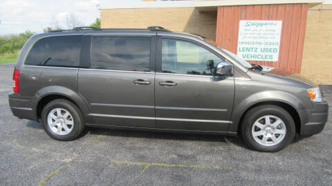 2010 Chrysler Town and Country for sale at LENTZ USED VEHICLES INC in Waldo WI