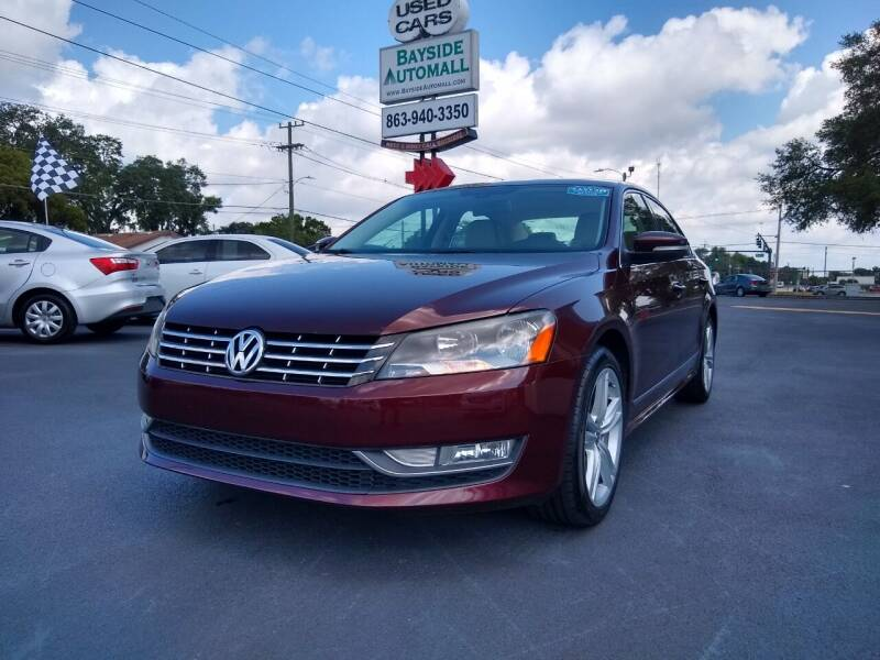 2013 Volkswagen Passat for sale at BAYSIDE AUTOMALL in Lakeland FL