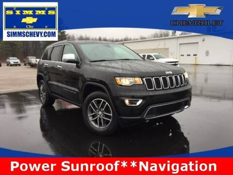 2017 Jeep Grand Cherokee for sale at Aaron Adams @ Simms Chevrolet in Clio MI