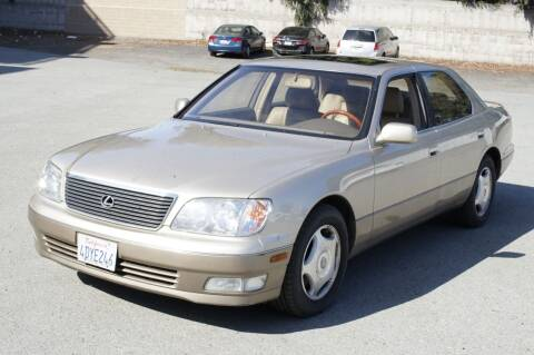 1999 Lexus LS 400 for sale at Sports Plus Motor Group LLC in Sunnyvale CA
