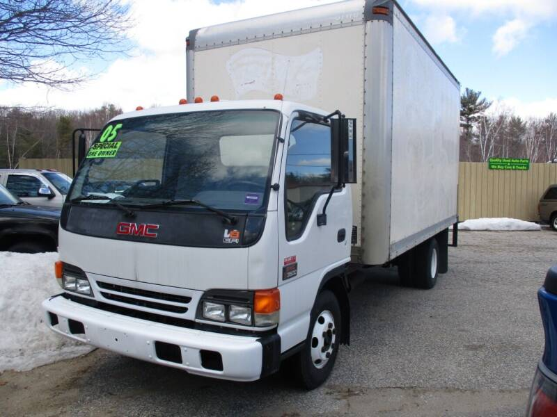 2005 GMC W4500 for sale at Roland's Motor Sales in Alfred ME