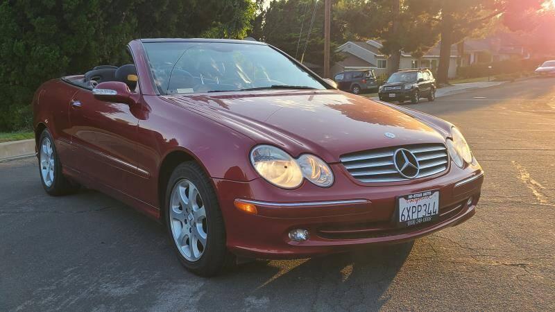 2004 Mercedes-Benz CLK for sale at CAR CITY SALES in La Crescenta CA