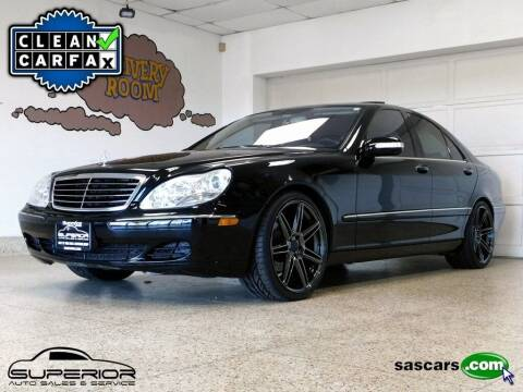 2006 Mercedes-Benz S-Class for sale at Cj king of car loans/JJ's Best Auto Sales in Troy MI