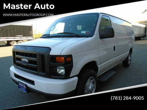 2014 Ford E-Series Cargo for sale at Master Auto in Revere MA