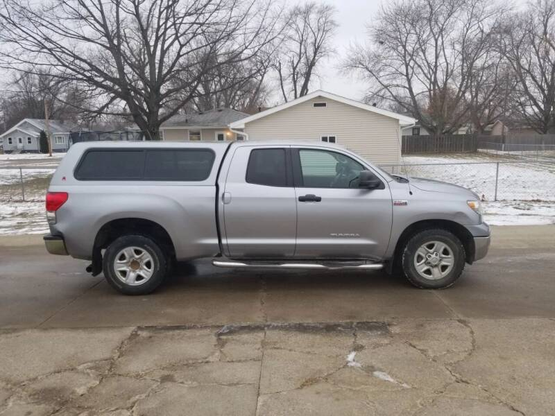 2008 Toyota Tundra for sale at RIVERSIDE AUTO SALES in Sioux City IA