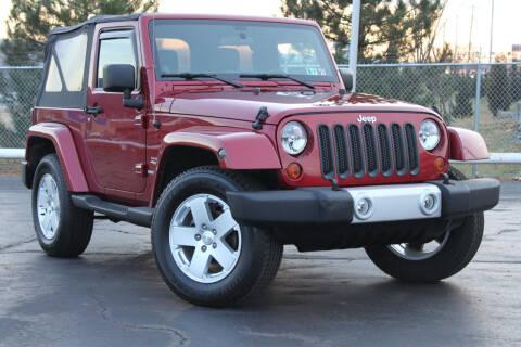 2012 Jeep Wrangler for sale at Dan Paroby Auto Sales in Scranton PA