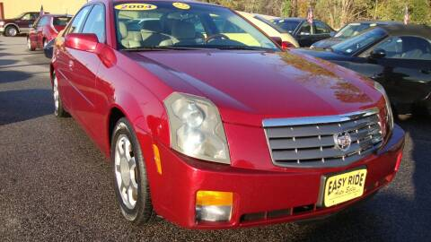 2004 Cadillac CTS for sale at Easy Ride Auto Sales Inc in Chester VA