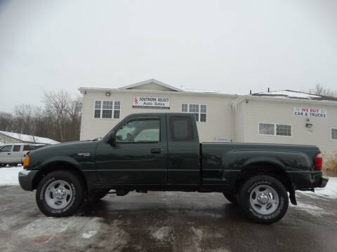 2003 Ford Ranger for sale at SOUTHERN SELECT AUTO SALES in Medina OH