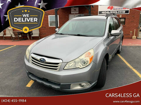 2010 Subaru Outback for sale at Cars4Less GA in Alpharetta GA