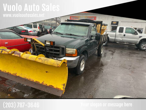 2001 Ford F-350 Super Duty for sale at Vuolo Auto Sales in North Haven CT