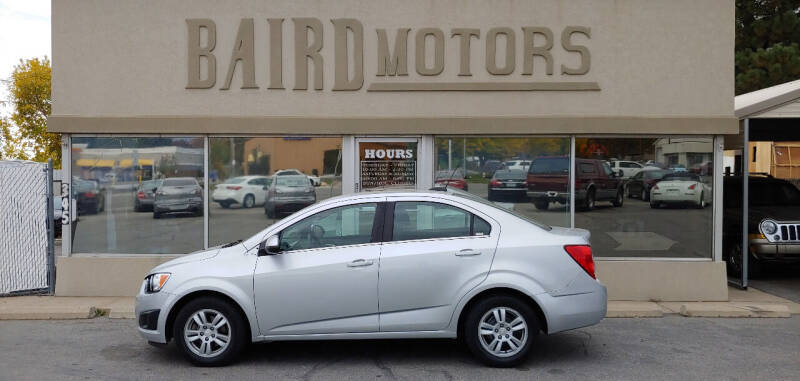 2015 Chevrolet Sonic for sale at BAIRD MOTORS in Clearfield UT