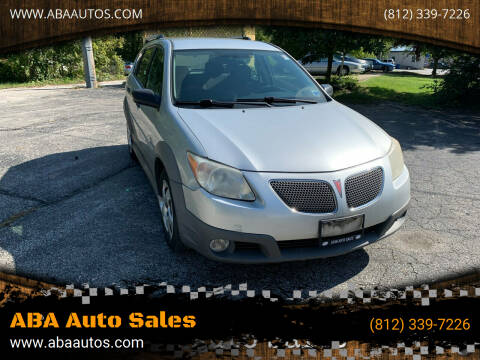 2008 Pontiac Vibe for sale at ABA Auto Sales in Bloomington IN