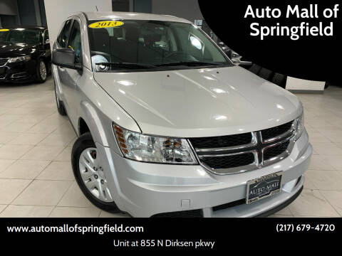 2013 Dodge Journey for sale at Auto Mall of Springfield in Springfield IL