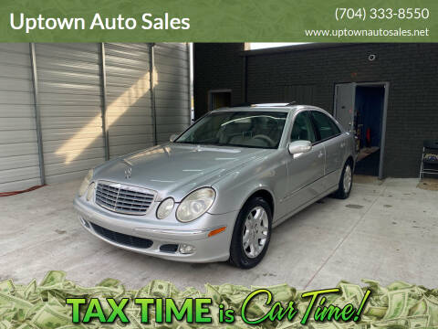 2003 Mercedes-Benz E-Class for sale at Uptown Auto Sales in Charlotte NC