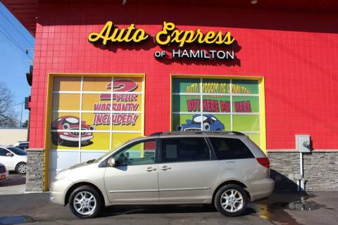 2005 Toyota Sienna for sale at AUTO EXPRESS OF HAMILTON LLC in Hamilton OH