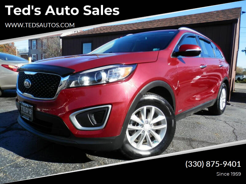 2016 Kia Sorento for sale at Ted's Auto Sales in Louisville OH