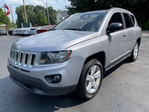 2016 Jeep Compass for sale at GEORGIA AUTO DEALER, LLC in Buford GA