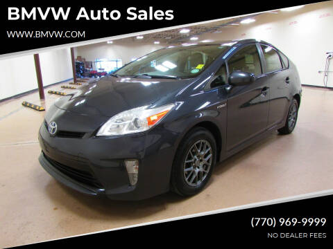 2013 Toyota Prius for sale at BMVW Auto Sales - Hybrids in Union City GA