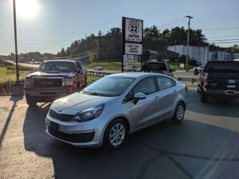 2016 Kia Rio for sale at Route 22 Autos in Zanesville OH