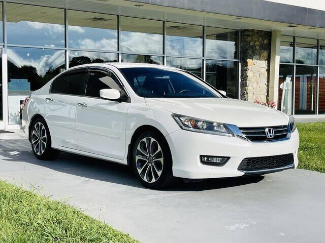 2015 Honda Accord for sale at RUSTY WALLACE CADILLAC GMC KIA in Morristown TN