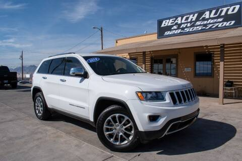 2014 Jeep Grand Cherokee for sale at Beach Auto and RV Sales in Lake Havasu City AZ