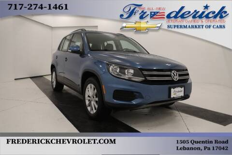 2017 Volkswagen Tiguan for sale at Lancaster Pre-Owned in Lancaster PA
