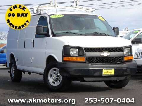 2013 Chevrolet Express Cargo for sale at AK Motors in Tacoma WA