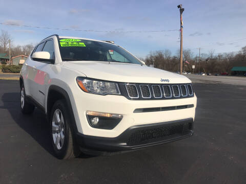 2018 Jeep Compass for sale at Baker Auto Sales in Northumberland PA