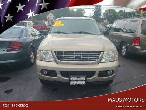 2004 Ford Explorer for sale at MAUS MOTORS in Hazel Crest IL