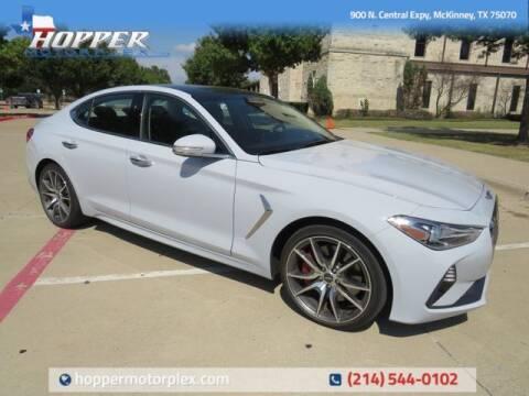 2021 Genesis G70 for sale at HOPPER MOTORPLEX in Mckinney TX