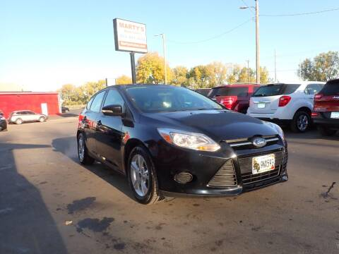 2014 Ford Focus for sale at Marty's Auto Sales in Savage MN