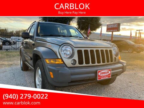 2006 Jeep Liberty for sale at CARBLOK in Lewisville TX