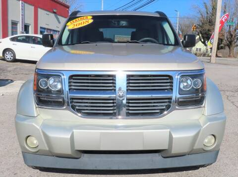 2008 Dodge Nitro for sale at RIVERSIDE CUSTOM AUTOMOTIVE in Mc Minnville TN