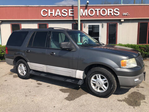 2003 Ford Expedition for sale at Chase Motors Inc in Stafford TX
