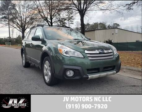 2013 Subaru Outback for sale at JV Motors NC LLC in Raleigh NC