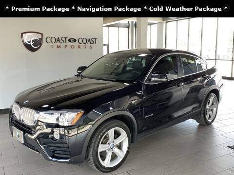 2016 BMW X4 for sale at Coast to Coast Imports in Fishers IN