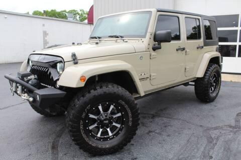 2017 Jeep Wrangler Unlimited for sale at Platinum Motors LLC in Reynoldsburg OH