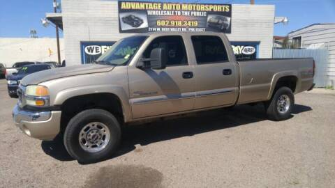 2004 GMC Sierra 2500HD for sale at Advantage Motorsports Plus in Phoenix AZ