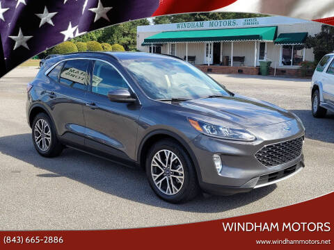 2020 Ford Escape for sale at Windham Motors in Florence SC