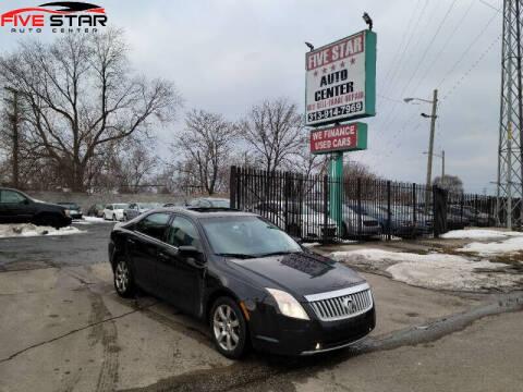 2010 Mercury Milan for sale at Five Star Auto Center in Detroit MI