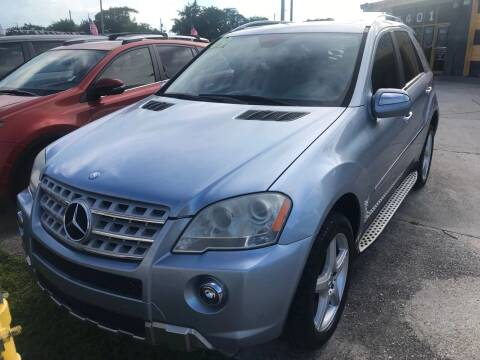 2009 Mercedes-Benz M-Class for sale at Dulux Auto Sales Inc & Car Rental in Hollywood FL