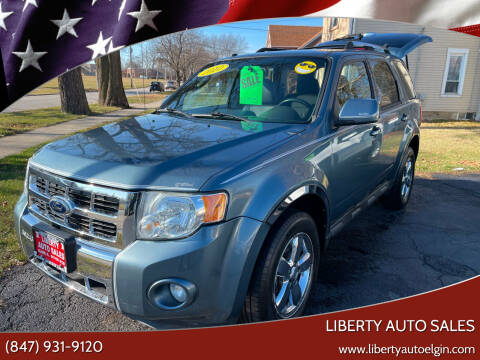 2010 Ford Escape for sale at Liberty Auto Sales in Elgin IL