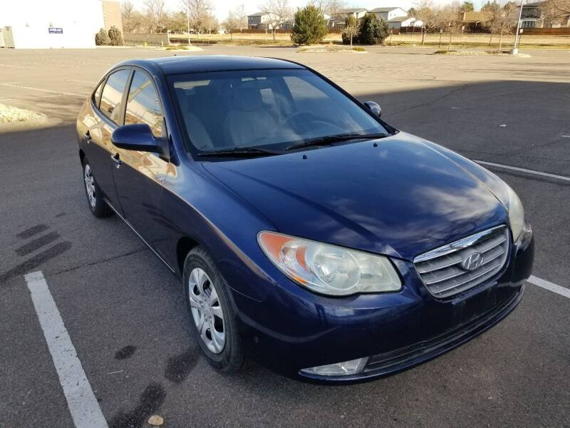 2010 Hyundai Elantra for sale at Red Rock's Autos in Denver CO