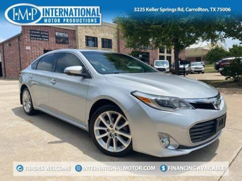 2013 Toyota Avalon for sale at International Motor Productions in Carrollton TX