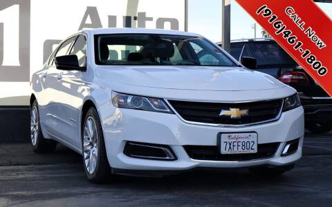2017 Chevrolet Impala for sale at H1 Auto Group in Sacramento CA