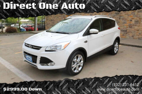 2014 Ford Escape for sale at Direct One Auto in Houston TX